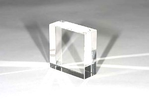 Glasblock optisch rein - ca 200 x 200 x 80mm